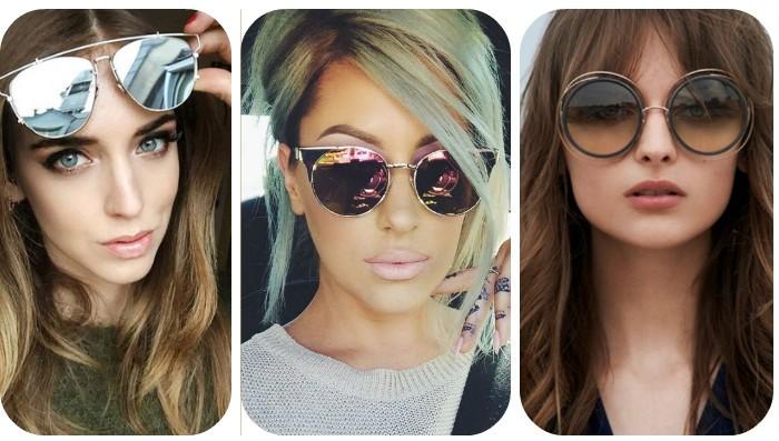 Женские очки от солнца 2017